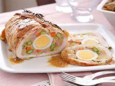 Pollo primavera ripieno, una ricetta di Daniele Persegani  http://www.alice.tv/secondi-carne/pollo-primavera-ripieno
