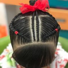 La imagen puede contener: una o varias personas Little Girl Hairstyles, Cute Hairstyles, Baby Girl Hair, Teen Fashion, Little Girls, Braids, Cute Outfits, Hair Styles, Makeup