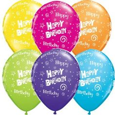 Birthday Balloon Bouquet Happy Birthday Party by PartySurprise