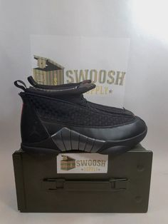 d123f4154bbf60 2017 Nike Air Jordan 15 XV Retro OG Stealth Size 10 881429-001  Nike