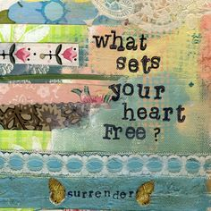 WHAT SETS YOUR HEART FREE? - Print
