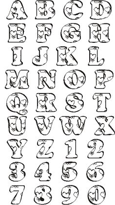 Fonts Alphabet Discover photo by Stencil Lettering, Doodle Lettering, Creative Lettering, Graffiti Lettering, Lettering Styles, Lettering Design, Doodle Art Letters, Calligraphy Fonts Alphabet, Hand Lettering Alphabet