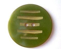 2 Antique bakelite vintage buttons collectibles olive by oritdotan, $5.00