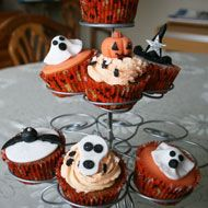 These spooky Halloween cupcakes won in Sept 2011, created by Carol Marshall
