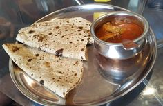 Chicken Curry Chapathi Combo