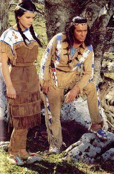 Winnetou - Pierre Brice und Uschi Glas