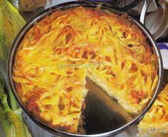 Pisztrángos omlett metélt tésztával és édesköménnyel | Receptek Cheddar, Lasagna, Ale, Ethnic Recipes, Food, Cheddar Cheese, Ales, Meals, Yemek
