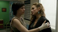 Tara and Wendy in the midst of plotting againt Jax and Gemma