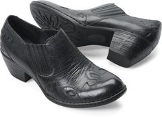 """Born Amibeth - OMG, when I was 13 my dad bought me a pair of shoes just like these ones. I must buy them.  """"An intriguing slip-on design, featuring a beautiful Western-inspired wingtip look"""" by Born shoes"""