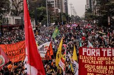 Taís Paranhos: Onde vai ter #ForaTemer neste dia 7 de setembro