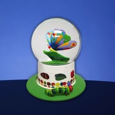 """The Very Hungry Caterpillar"" Butterfly Water Globe, http://www.amazon.com/dp/B008D50GLM/ref=cm_sw_r_pi_awdl_Fz1Hsb0ZMPDPY"