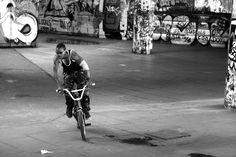 Southbank biking