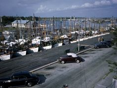 Sponge fleet at St. Nicholas dock for Epiphany services: Tarpon Springs, Florida | Flickr - Photo Sharing!