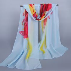 3.44$  Buy here - http://dix8h.justgood.pw/go.php?t=182902501 - Chic Freedom Creation Splash-Ink Pattern Women's Chiffon Scarf 3.44$