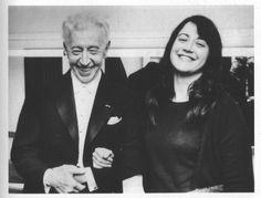 Martha Argerich and Arthur Rubinstein.