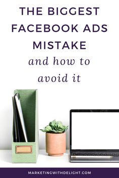 I've been running Facebook ads for myself and clients for over 3 years now. And here's a classic mistake that I see over and over again. This mistake can cost you a lot of money. It has to do with your Facebook ads targeting. Click through to my blog to learn how to avoid this Facebook ads mistake and set up Facebook ads that work! #onlinemarketing #facebookads #facebooktips #fempreneur #ladyboss Facebook Ads Manager, Facebook Business, Facebook Marketing, Online Marketing, Media Marketing, Online Business, How To Use Facebook, Facebook Video, For Facebook