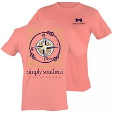 """SIMPLY SOUTHERN COLLECTION"""" -Preppy T-Shirt Collection Brand new and ready to ship!!! Go to touchofsouth.com to order yours today"""