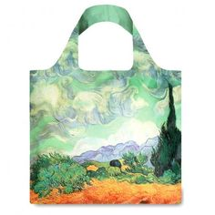 """Tote Bag : VINCENT VAN GOGH """"A Wheat Field with Cypresses"""""""