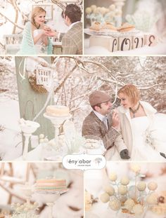 mint vintage candy bar for vintage wedding  Photo by www.fenylabor.hu