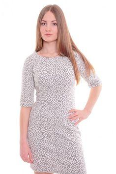 Платье А4677 Размеры: 42-48 Цвет: белый Цена: 600 руб.  http://optom24.ru/plate-a4677/  #одежда #женщинам #платья #оптом24