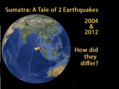 In 2004 a Magnitude 9.1 interplate subduction earthquake triggered a tsunami that killed over 230,000 people. Yet a nearby magnitude 8.7…