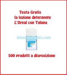 Testa gratis lozione detergente L'Oreal con Toluna - http://www.omaggiomania.com/testare-prodotti-gratis/testa-gratis-lozione-detergente-loreal-toluna/