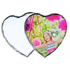 Heart Shaped Photo Slate (Personalise it! Photo Heart, Natural Shapes, Different Shapes, Slate, Gifts For Friends, Are You The One, Heart Shapes, Unique Gifts, Outdoor Blanket