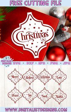 Cricut Christmas Cards, Christmas Svg, Christmas Ornaments, Christmas Decorations, Xmas, Christmas Projects, Cricut Tutorials, Cricut Ideas, Cricut Explore Projects