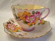 Beautiful Old Paragon Tea Cup Saucer Set Cup And Saucer Set, Tea Cup Saucer, Tea Cups, Coffee Cups, China Cups And Saucers, Teapots And Cups, China Tea Sets, My Cup Of Tea, Chocolate Pots