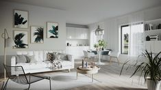 Biggest project we have ever made in Norway! 3d Architectural Rendering, 3d Architectural Visualization, 3d Visualization, 3d Video, Big Project, Scandinavian Design, Norway, Gallery Wall, Real Estate