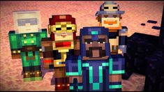 What member of the order of the stone are you (Minecraft story modes order of the stone) Minecraft Gameplay, Minecraft Videos, Mojang Minecraft, Minecraft Projects, Minecraft Stuff, Female Hero Names, Trailer Youtube, Playbuzz Quizzes, Fandom