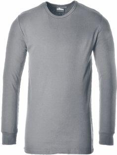 Camiseta interior térmica manga larga Gris