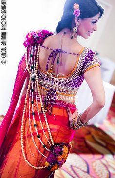 Murti tAnirika Floral Jewelry Indian Wedding Garba6