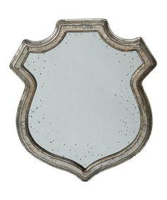 Look at this #zulilyfind! Medium Badge Mirror #zulilyfinds