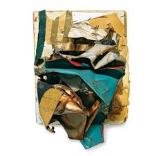 Untitled, ca. 1961 by John Chamberlain (Guggenheim show thru May 13)