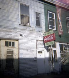 Old south, coke signs