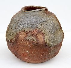 Wood fired vase - Eric Soule