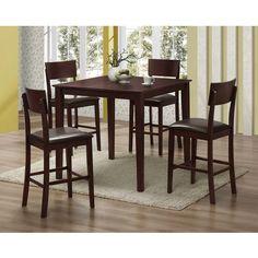 Steve Silver Company RM5000E Richmond FivePiece Counter Table Dining ...