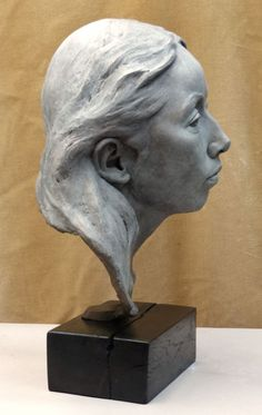 #Bronze Portrait Sculptures / Commission or Bespoke or Customised #sculpture by…