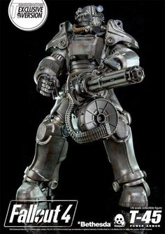 Open The Toy: 1/6 Fallout 4 TT-45 Power Armour Coming