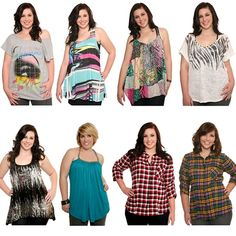 Plus size outfits for teen girls