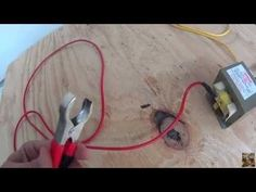How to make and wire the Microwave transformer for Lichtenberg Figure burning wood with electricity. I published the viking chair project on the Instructable...