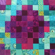 Controlled Chaos scrap quilt - block #14