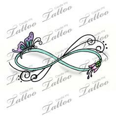 Image result for butterfly infinity tattoos