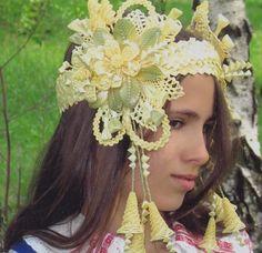 Кокошники из соломки наши + из интернета – 57 фотографий   ВКонтакте