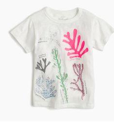 ca6077144 Crewcuts kids girl underwater garden coral reef white tshirt top shirt tee  10  fashion