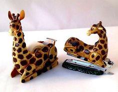 Giraffe Stapler and Tape Dispenser   eBay                                                                                                                                                     More