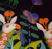 Hidden Mickey on Vines at It's A Small World