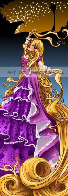 Rapunzel by JunebugHardee on deviantART