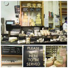CHEESE!! Neal's Yard Dairy - my favourite London Cheese shop. Yum!